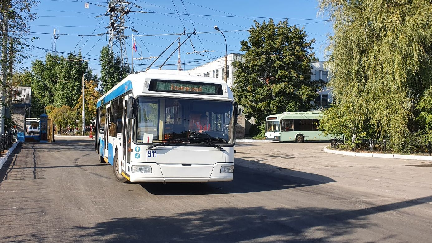 В Самаре выберут лучшего водителя троллейбуса в России